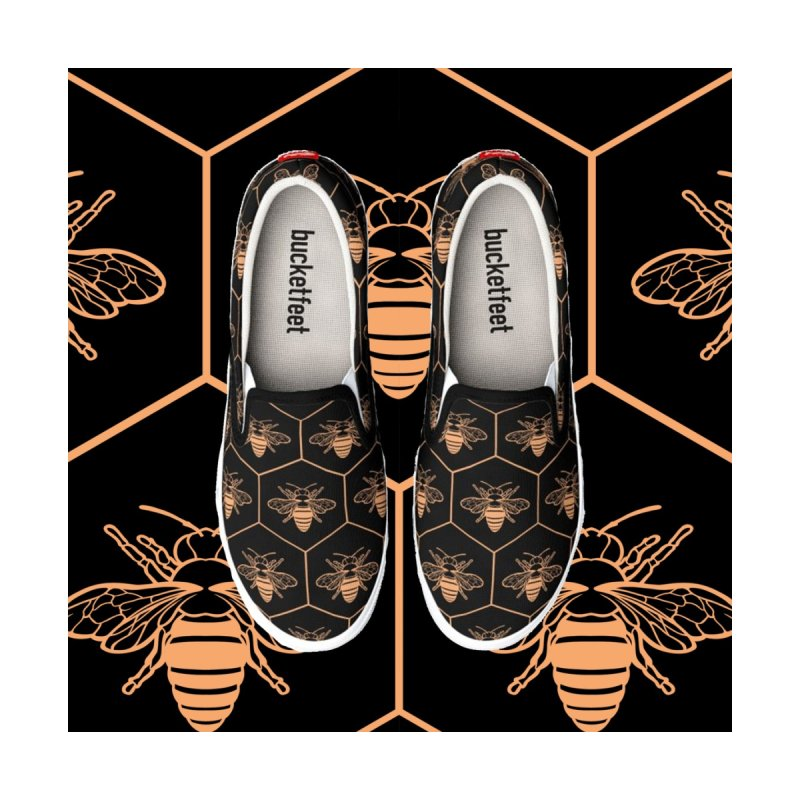 Bee flats Women's Shoes by Maya Kern