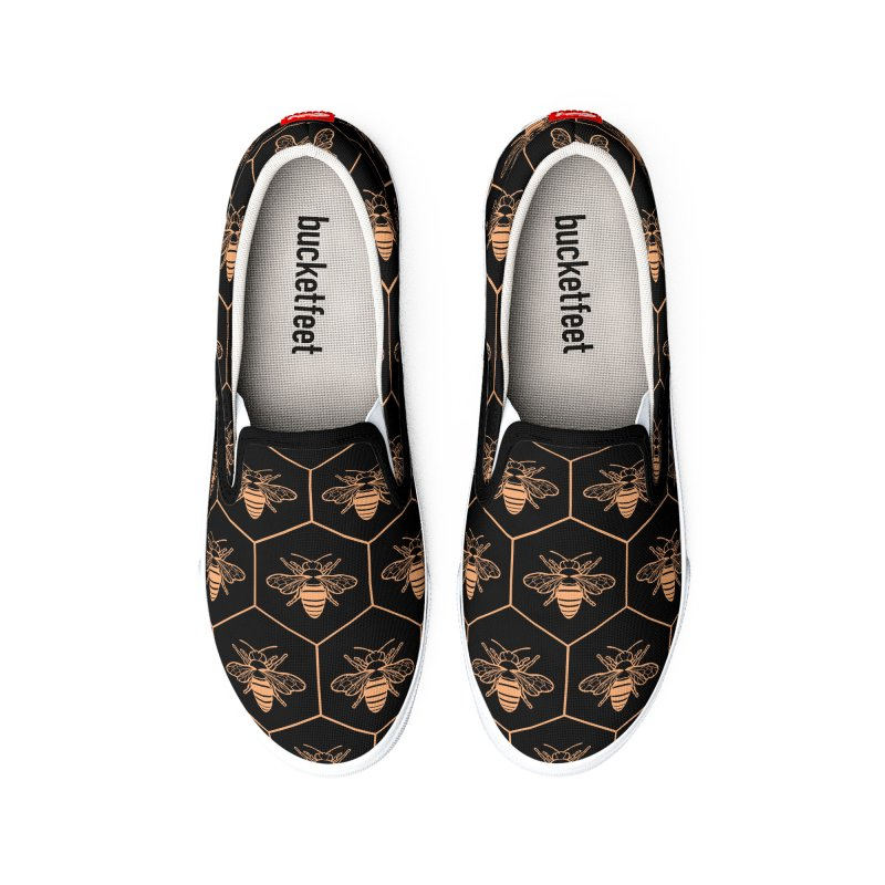 Bee flats Men's Shoes by Maya Kern