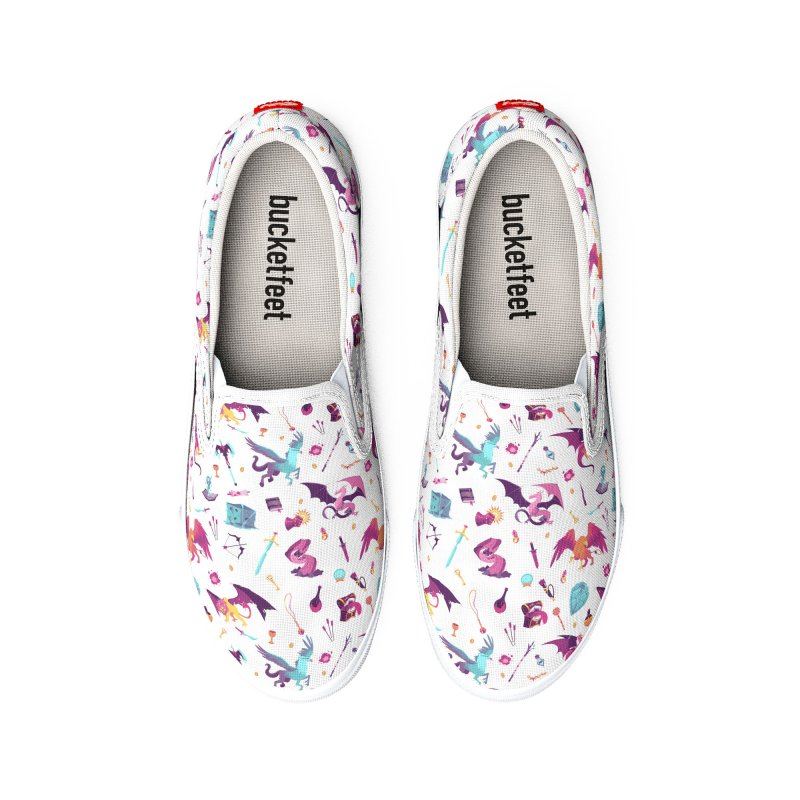 Pastel Dungeon Delver Women's Shoes by Maya Kern