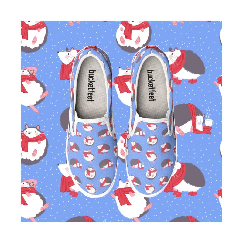 Cozy Hedgehogs Women's Shoes by mayakern's Artist Shop