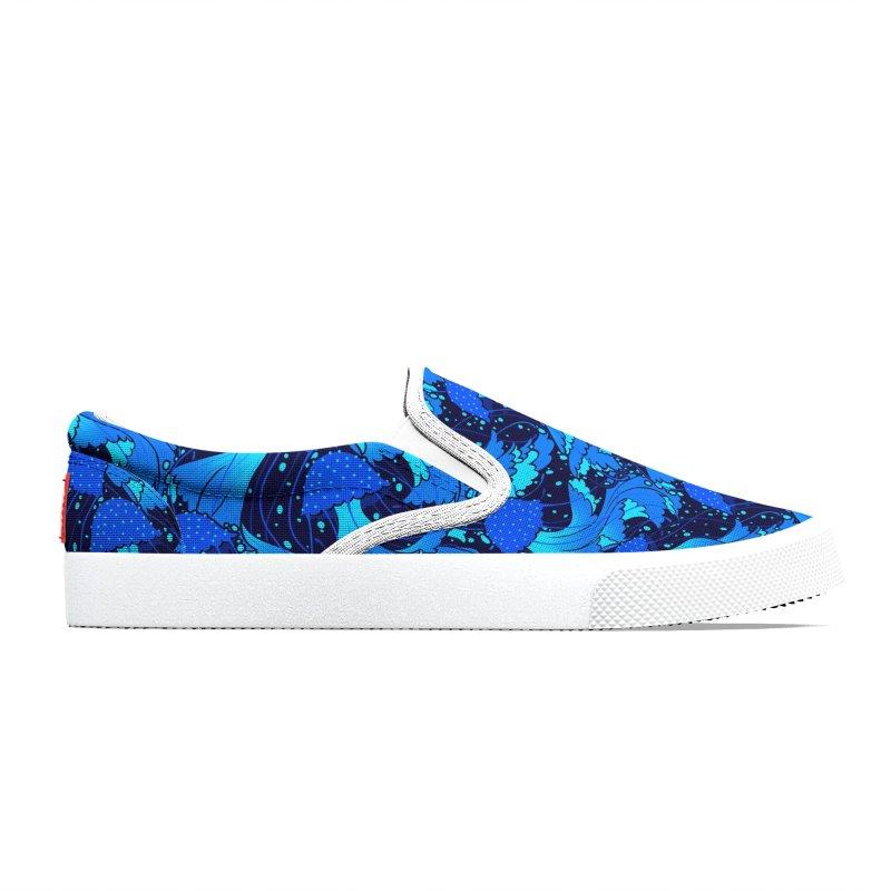 Super Blue Men's Shoes by Maya Kern