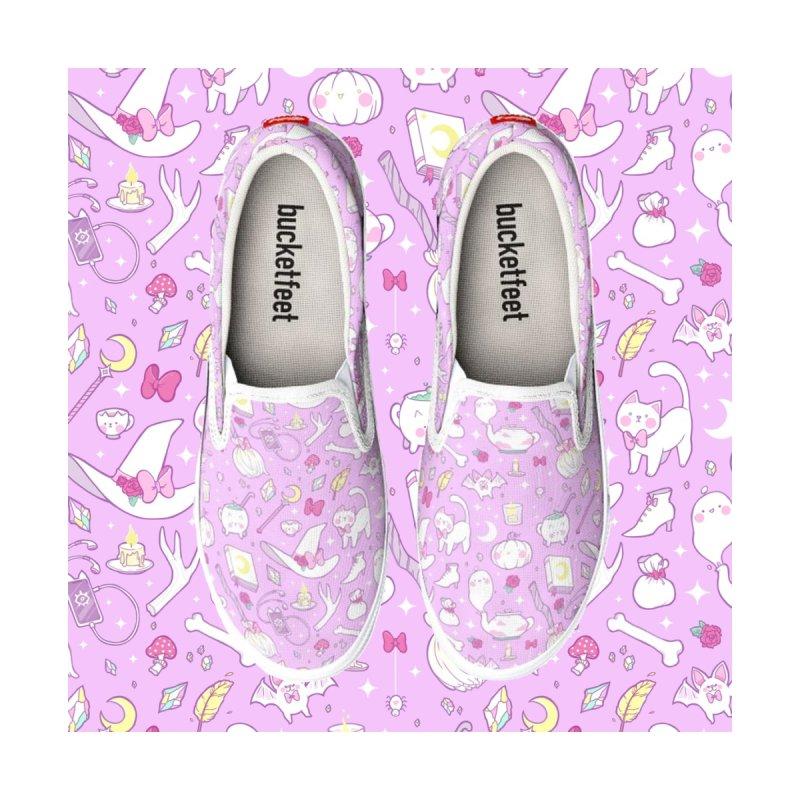 Pastel Witch Men's Shoes by Maya Kern