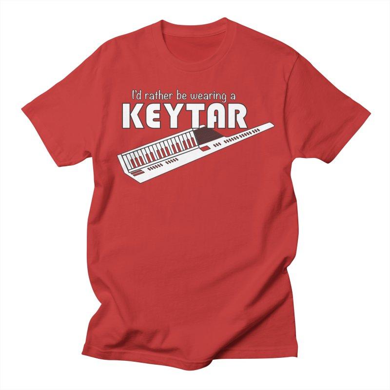 I'd Rather Be Wearing a Keytar Women's T-Shirt by Maya Kuper's Artist Shop