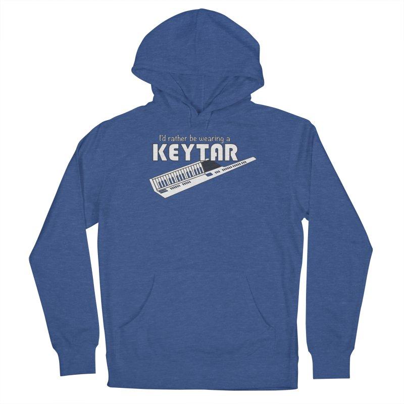 I'd Rather Be Wearing a Keytar Women's Pullover Hoody by Maya Kuper's Artist Shop