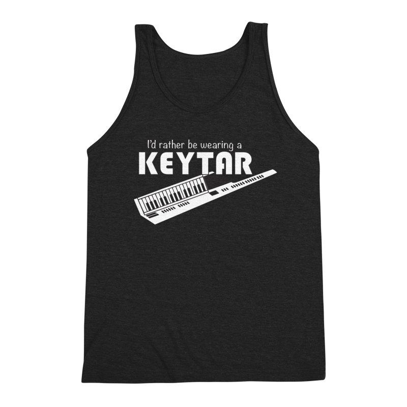 I'd Rather Be Wearing a Keytar Men's Tank by Maya Kuper's Artist Shop