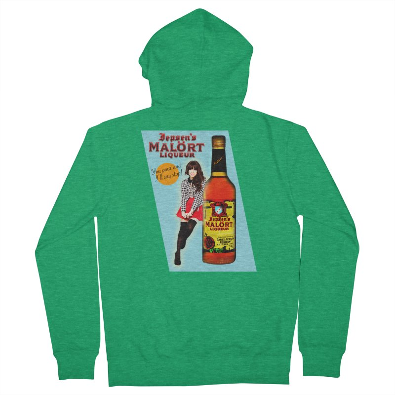 Carly Rae Jepsen's Malört Men's Zip-Up Hoody by Maya Kuper's Artist Shop