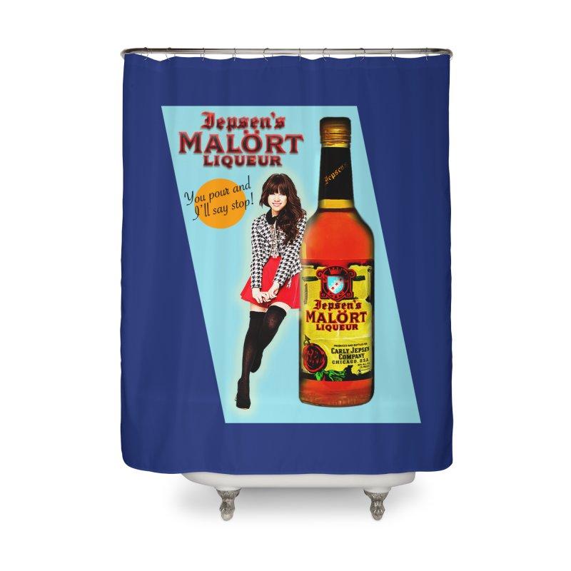 Carly Rae Jepsen's Malört Home Shower Curtain by Maya Kuper's Artist Shop