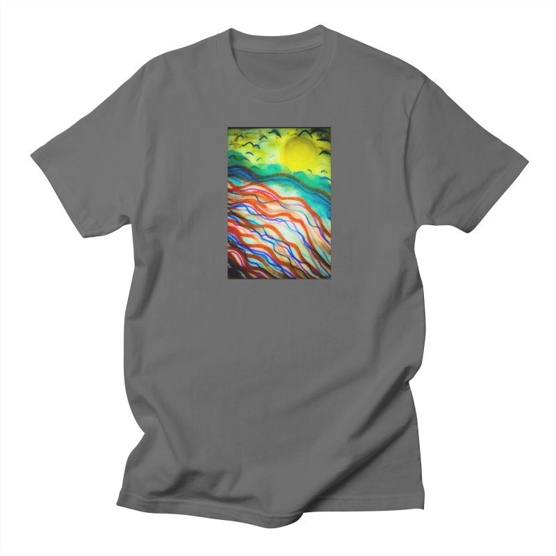 Sunrise by the Bay Men's T-Shirt by mayasdivinedesigns 's Artist Shop