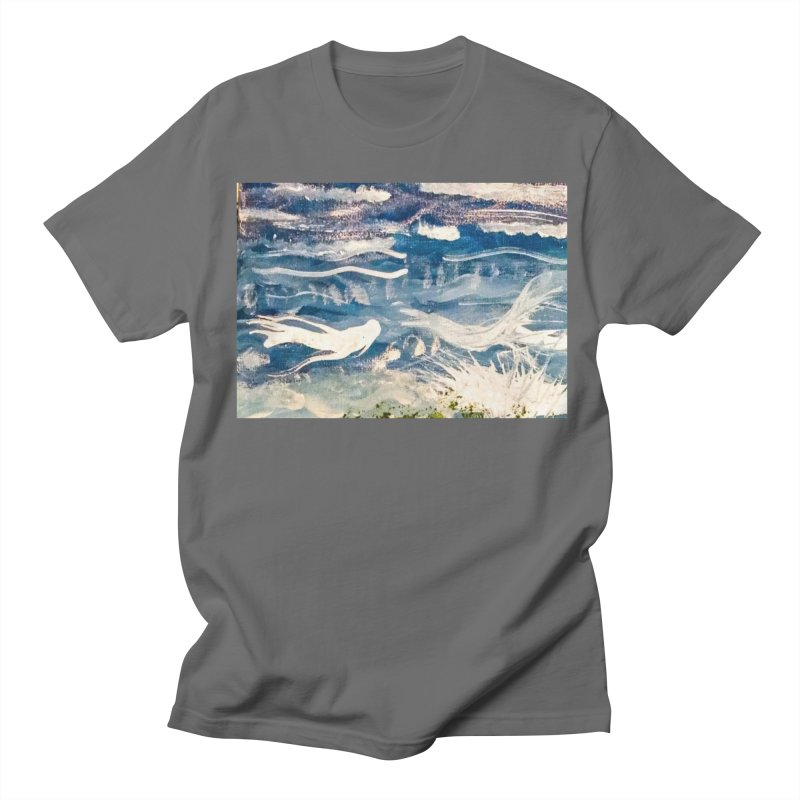 Swimming Merpeople Men's T-Shirt by mayasdivinedesigns 's Artist Shop