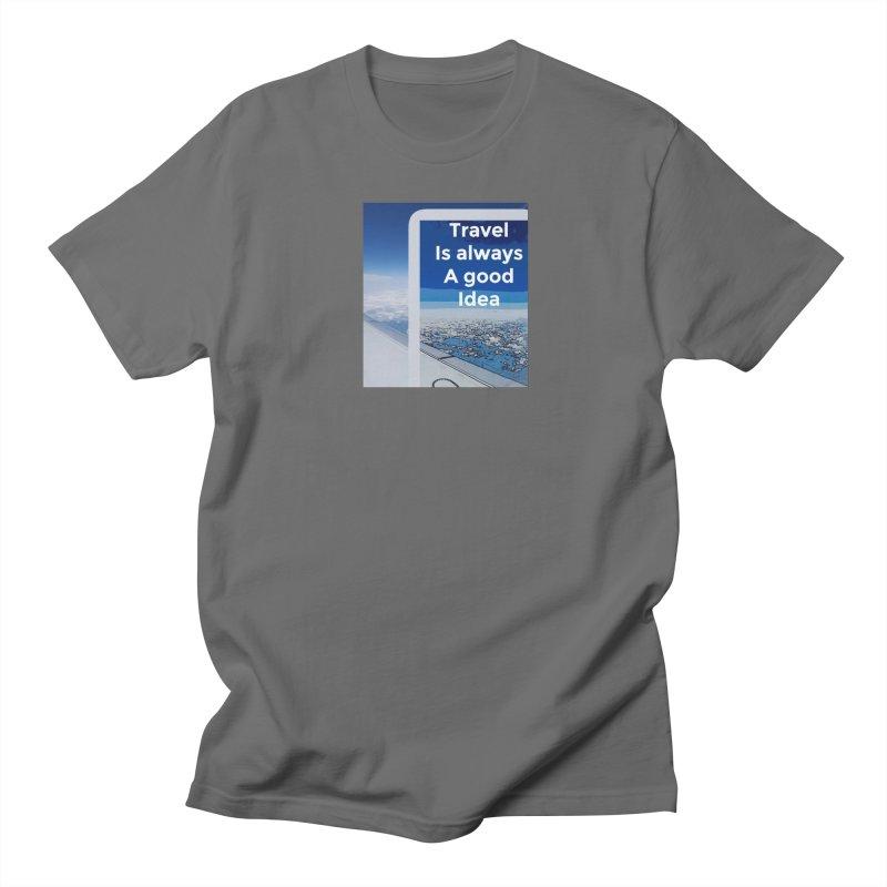 Travel Men's T-Shirt by mayasdivinedesigns 's Artist Shop