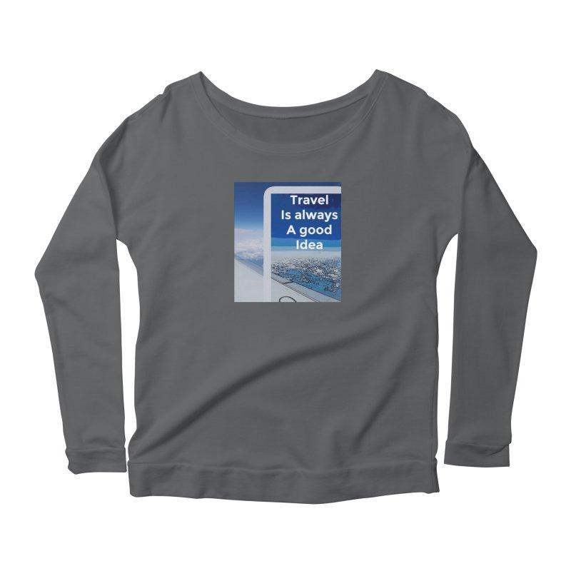Travel Women's Longsleeve T-Shirt by mayasdivinedesigns 's Artist Shop