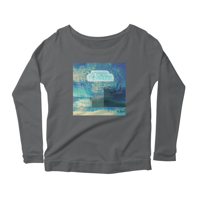 Meet Me At the Beach Women's Longsleeve T-Shirt by mayasdivinedesigns 's Artist Shop
