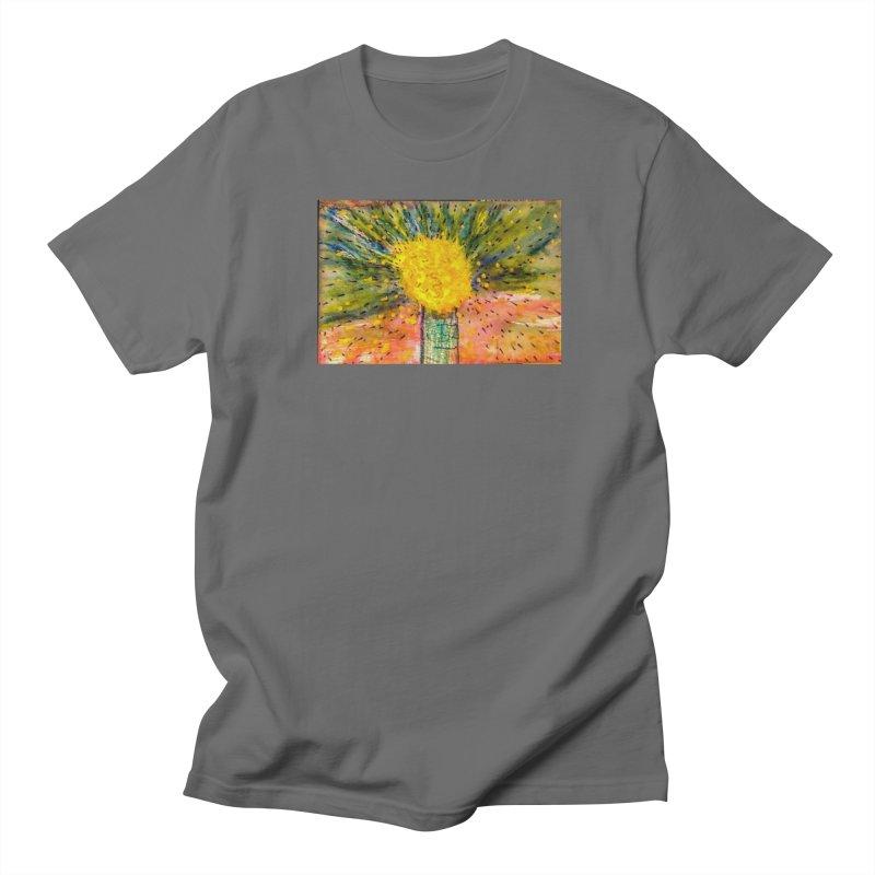 Watercolor Dandelion Men's T-Shirt by mayasdivinedesigns 's Artist Shop