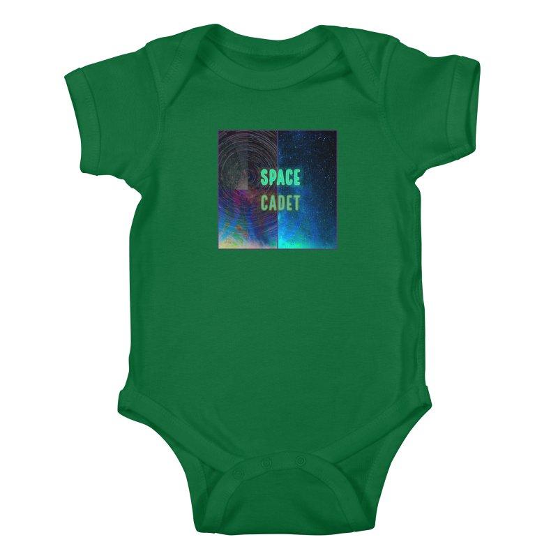 Space Cadet Kids Baby Bodysuit by mayasdivinedesigns 's Artist Shop