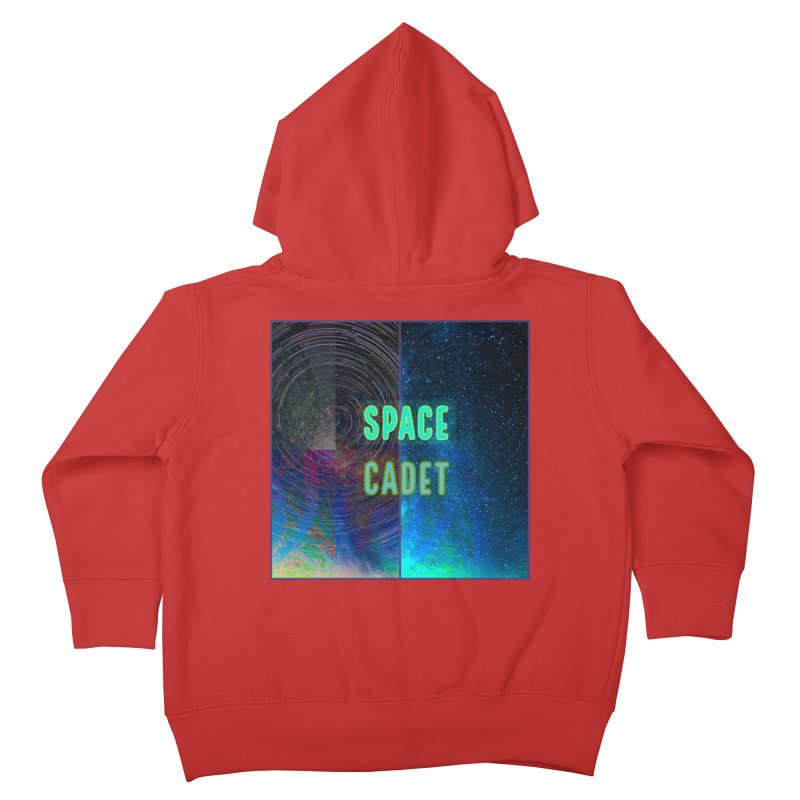 Space Cadet Kids Toddler Zip-Up Hoody by mayasdivinedesigns 's Artist Shop