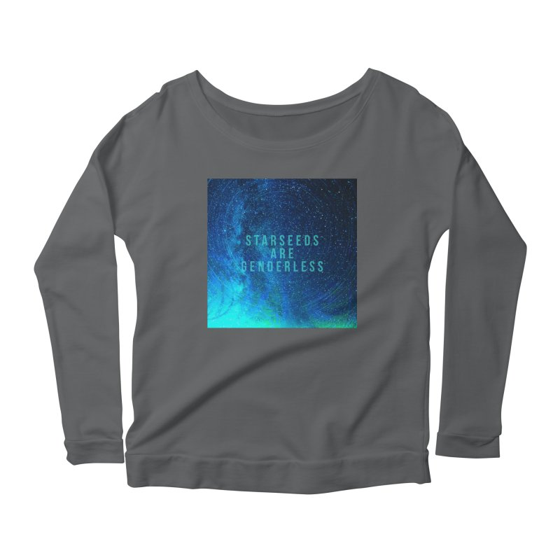 Starseeds Are Genderless Women's Longsleeve T-Shirt by mayasdivinedesigns 's Artist Shop