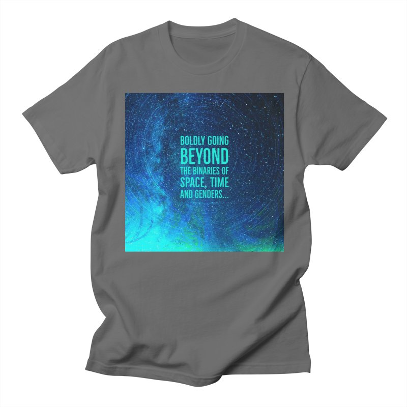 Boldly Going Beyond the Binaries   by Maya's Divine Designs