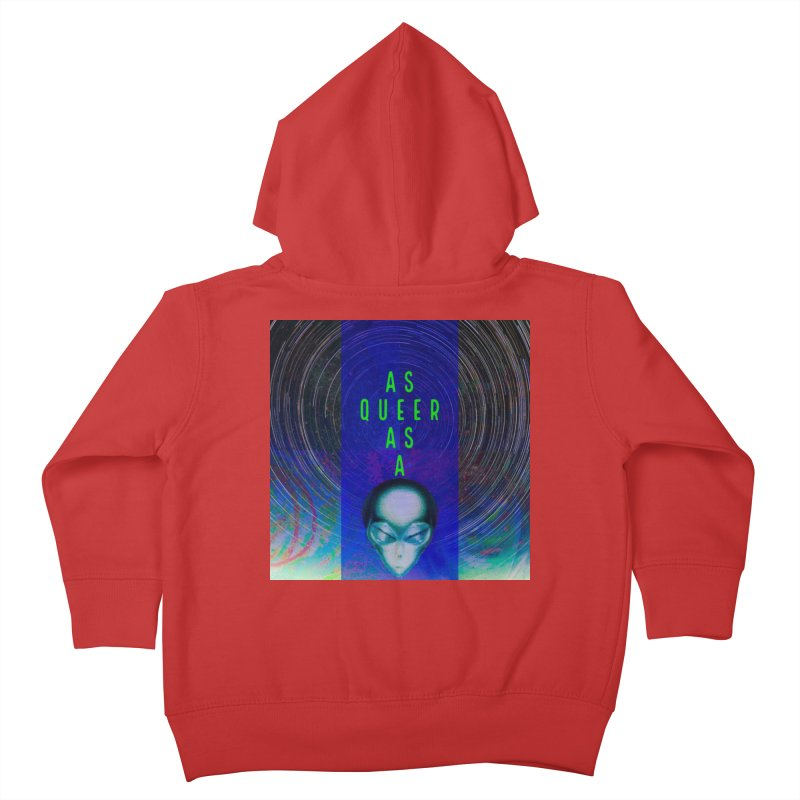 As Queer As A Kids Toddler Zip-Up Hoody by mayasdivinedesigns 's Artist Shop