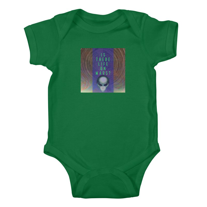 Is There Life on Mars? Kids Baby Bodysuit by mayasdivinedesigns 's Artist Shop