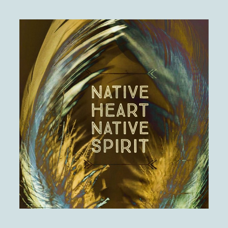 Native Heart, Native Spirit Men's T-Shirt by mayasdivinedesigns 's Artist Shop