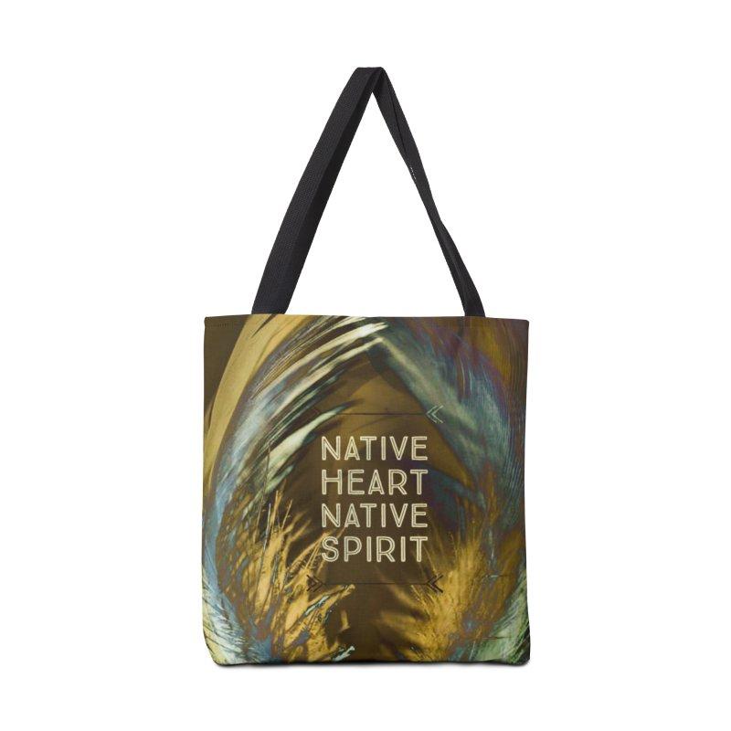 Native Heart, Native Spirit Accessories Bag by Maya's Divine Designs