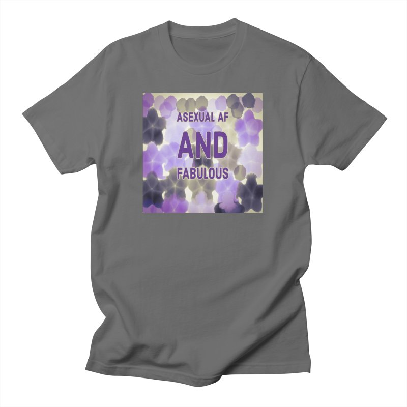 Asexual Pride Unisex, fitted T-Shirt by Maya's Divine Designs