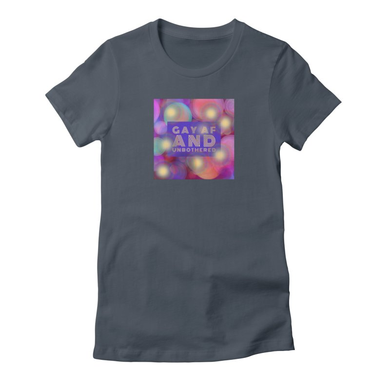 Gay Pride Unisex, fitted T-Shirt by Maya's Divine Designs