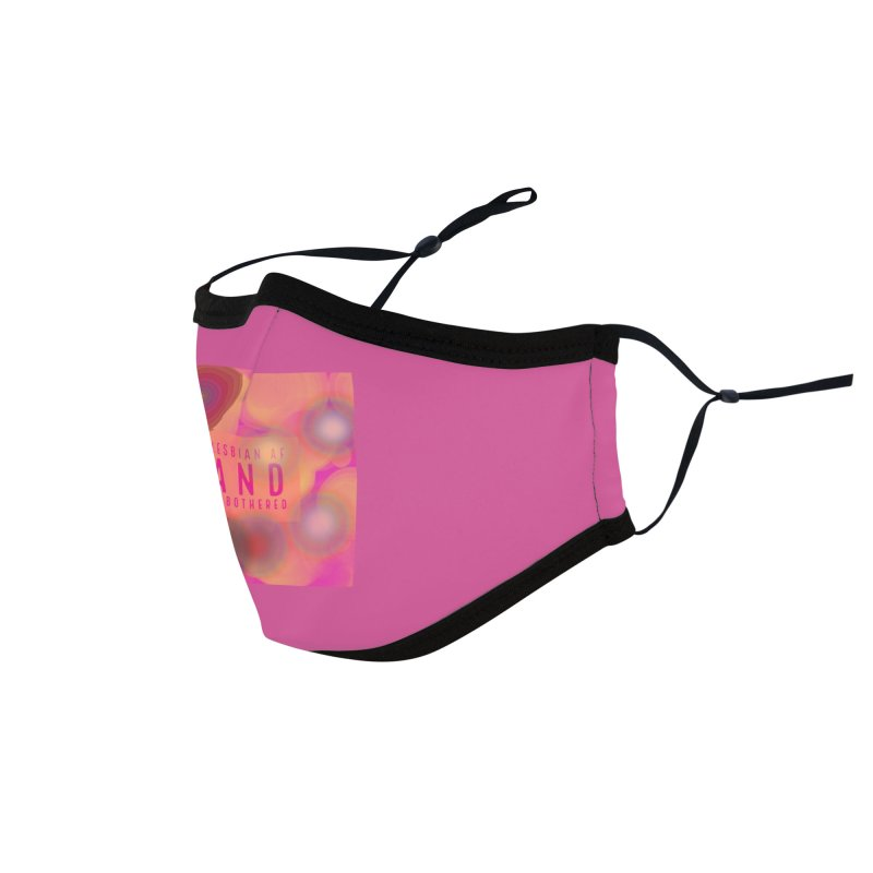 Lesbian Pride Accessories Face Mask by Maya's Divine Designs
