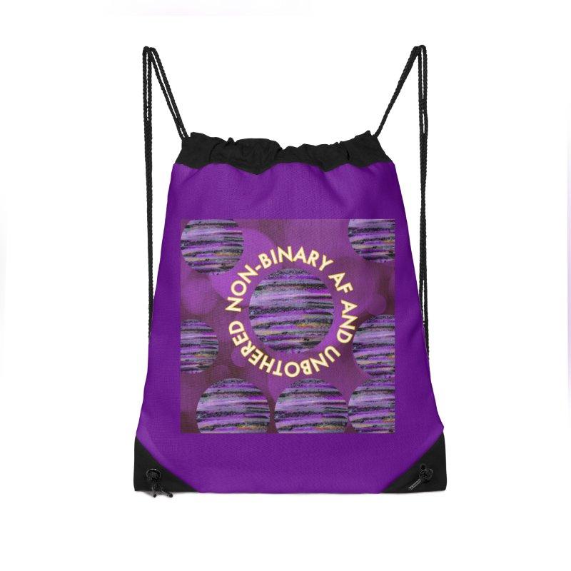 Non-Binary Pride Accessories Bag by Maya's Divine Designs