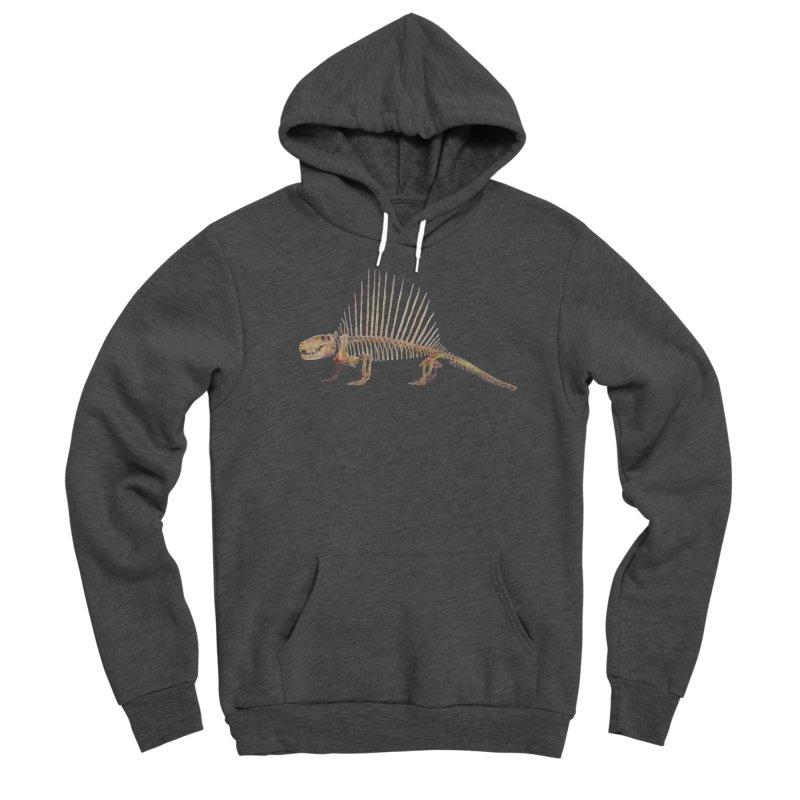 Dimetrodon Men's Pullover Hoody by May Jernigan's Artist Shop