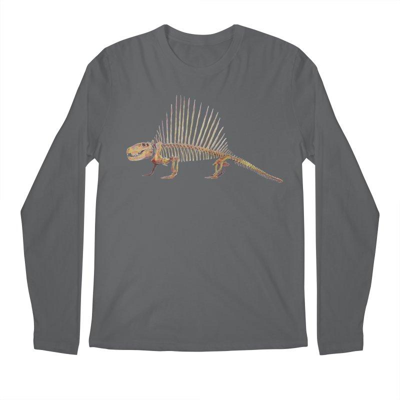 Dimetrodon Men's Longsleeve T-Shirt by May Jernigan's Artist Shop