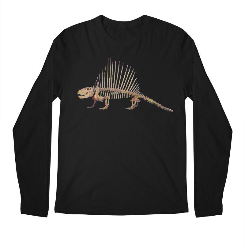 Dimetrodon Men's Regular Longsleeve T-Shirt by May Jernigan's Artist Shop