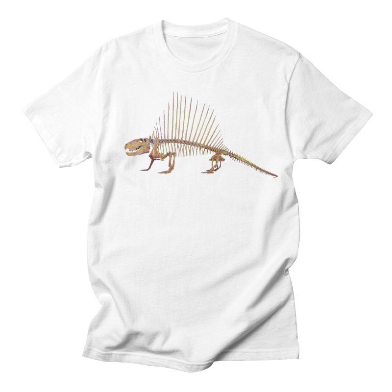 Dimetrodon Men's Regular T-Shirt by May Jernigan's Artist Shop