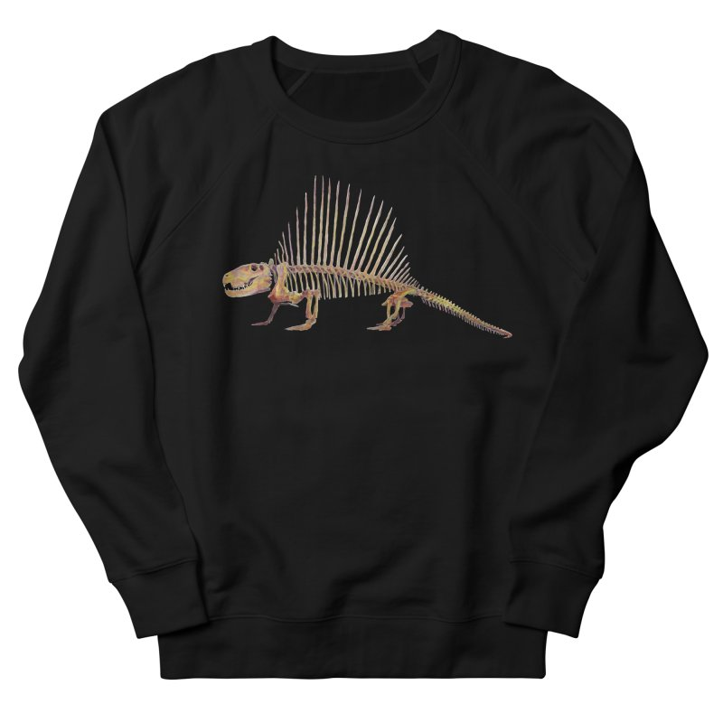 Dimetrodon Men's Sweatshirt by May Jernigan's Artist Shop