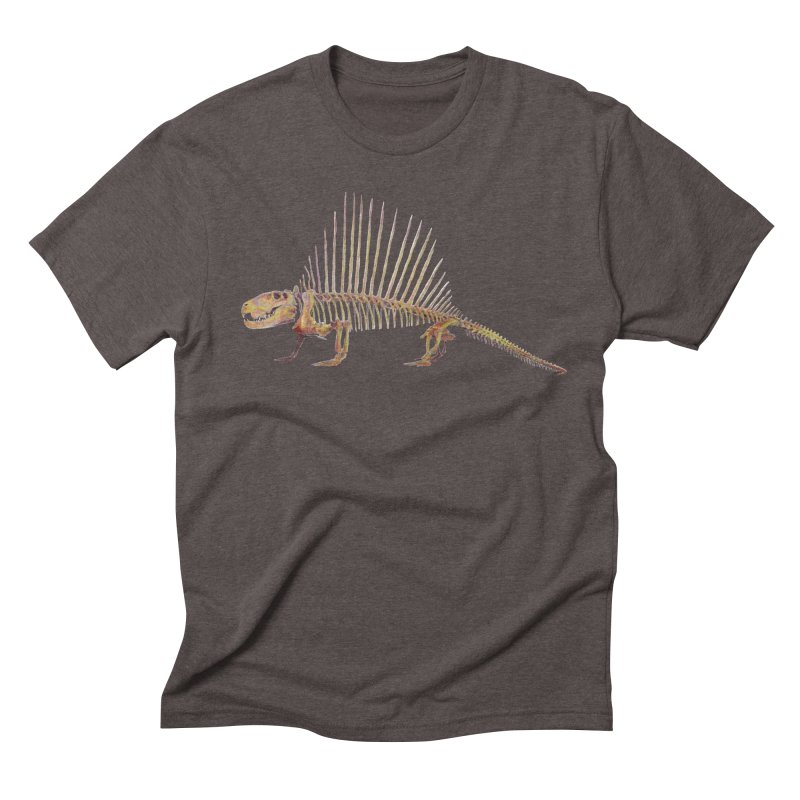 Dimetrodon Men's Triblend T-Shirt by May Jernigan's Artist Shop