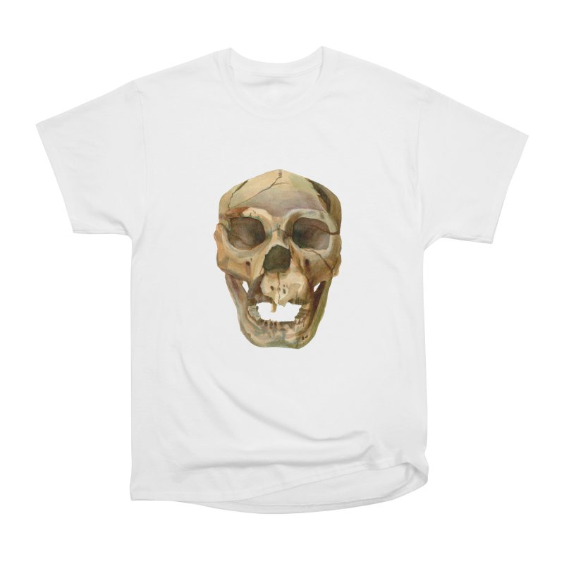 Homo heidelbergensis Men's T-Shirt by May Jernigan's Artist Shop