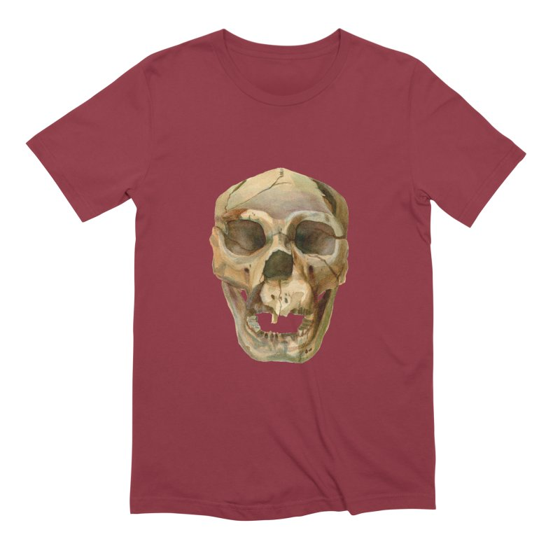 Homo heidelbergensis Men's Extra Soft T-Shirt by May Jernigan's Artist Shop