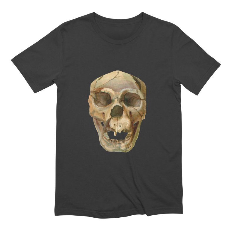 Homo heidelbergensis Men's Extra Soft T-Shirt by May Jernigan's Artist Shop