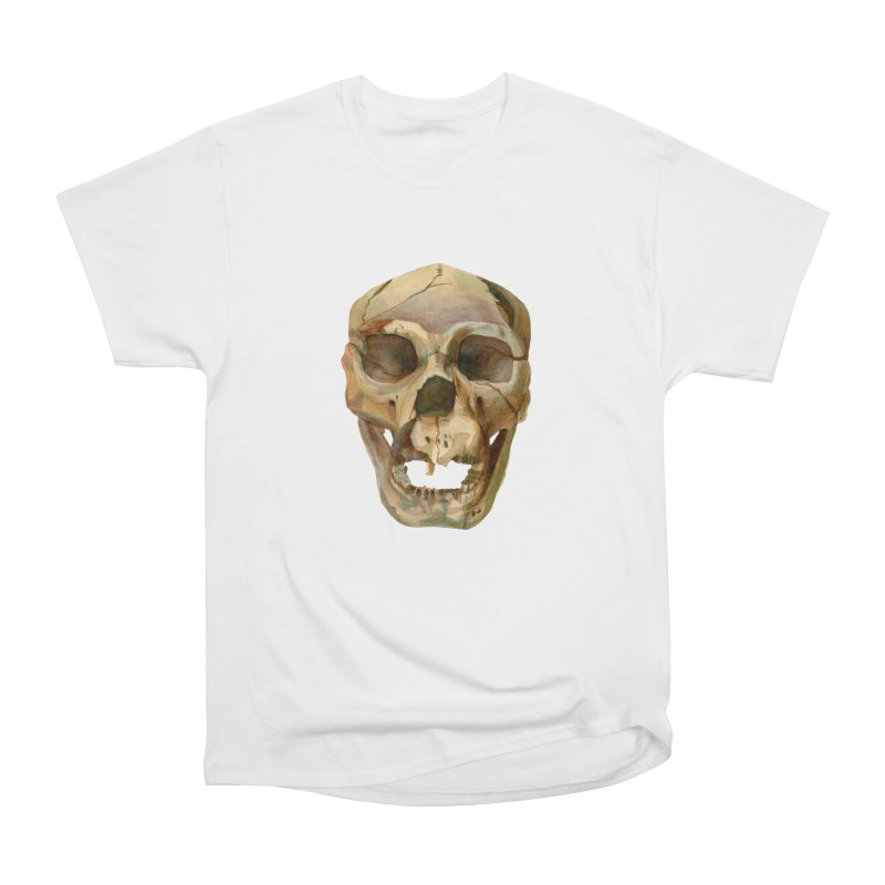 Homo heidelbergensis Men's Heavyweight T-Shirt by May Jernigan's Artist Shop