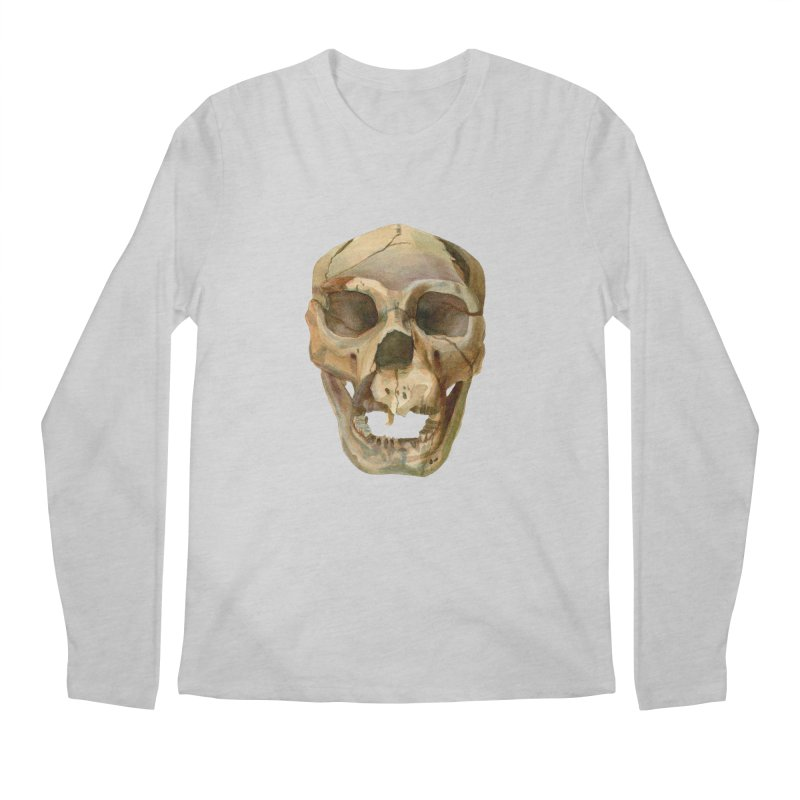 Homo heidelbergensis Men's Regular Longsleeve T-Shirt by May Jernigan's Artist Shop