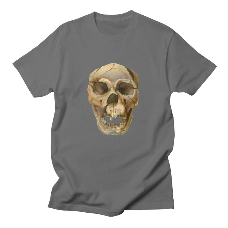 Homo heidelbergensis Men's T-Shirt by May Jernigan's Artist Shop