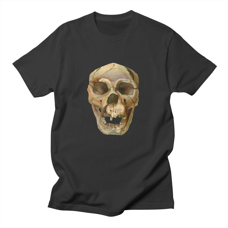 Homo heidelbergensis Men's Regular T-Shirt by May Jernigan's Artist Shop