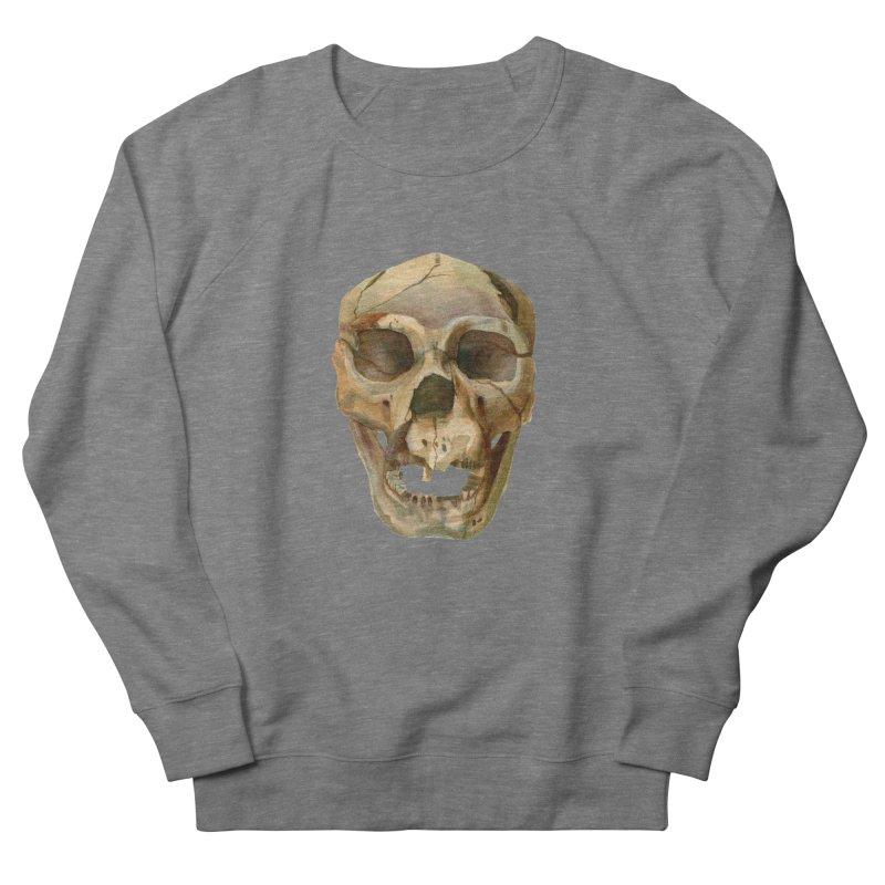 Homo heidelbergensis Men's French Terry Sweatshirt by May Jernigan's Artist Shop