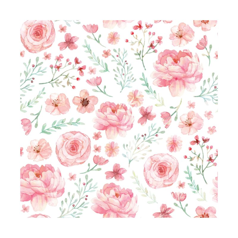 Pink'n White Sweety Florals by maymoriie's Artist Shop
