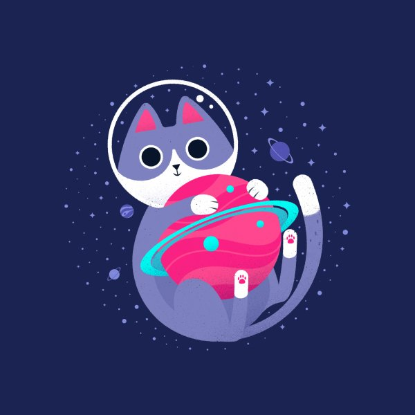Design for Astronaut Cat