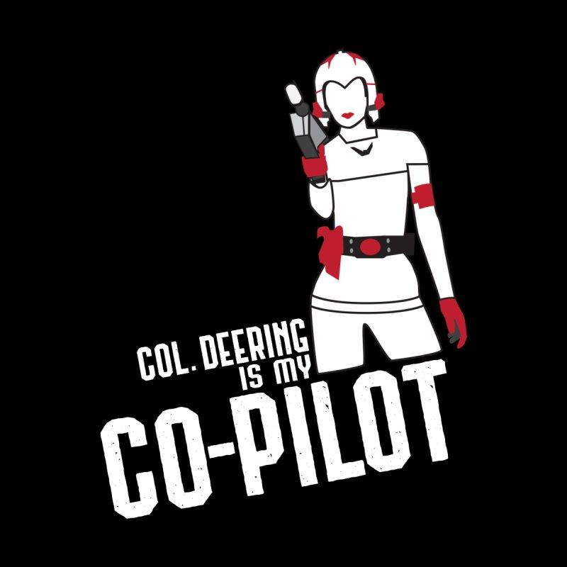Col. Deering is my Co-Pilot Men's T-Shirt by mbarrettdesign's Artist Shop