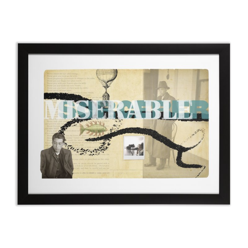 miserable sorcerer Home Framed Fine Art Print by mcardwell's Artist Shop