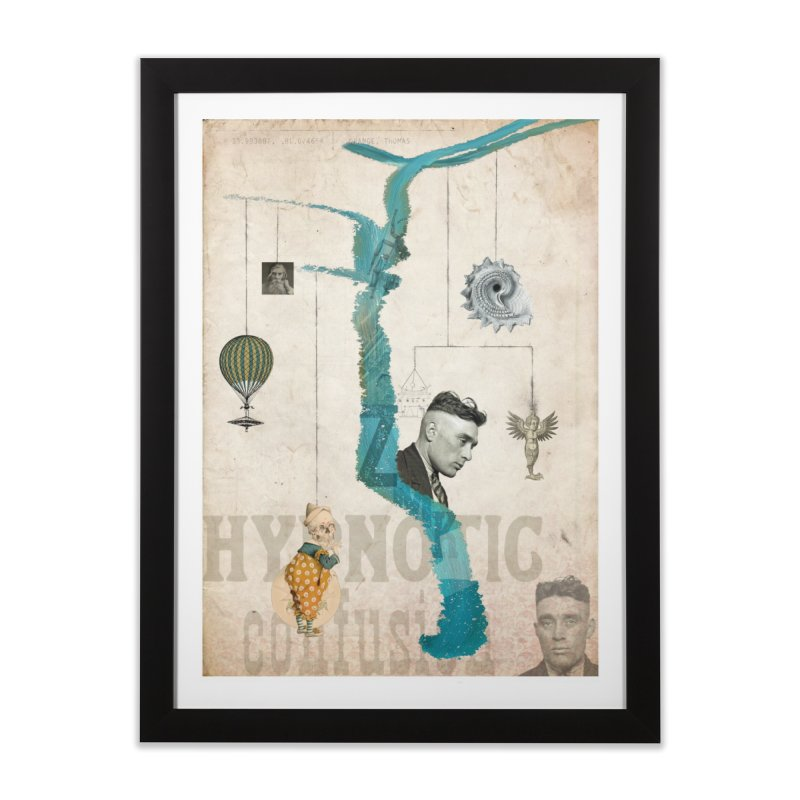 hypnotic confusion Home Framed Fine Art Print by mcardwell's Artist Shop