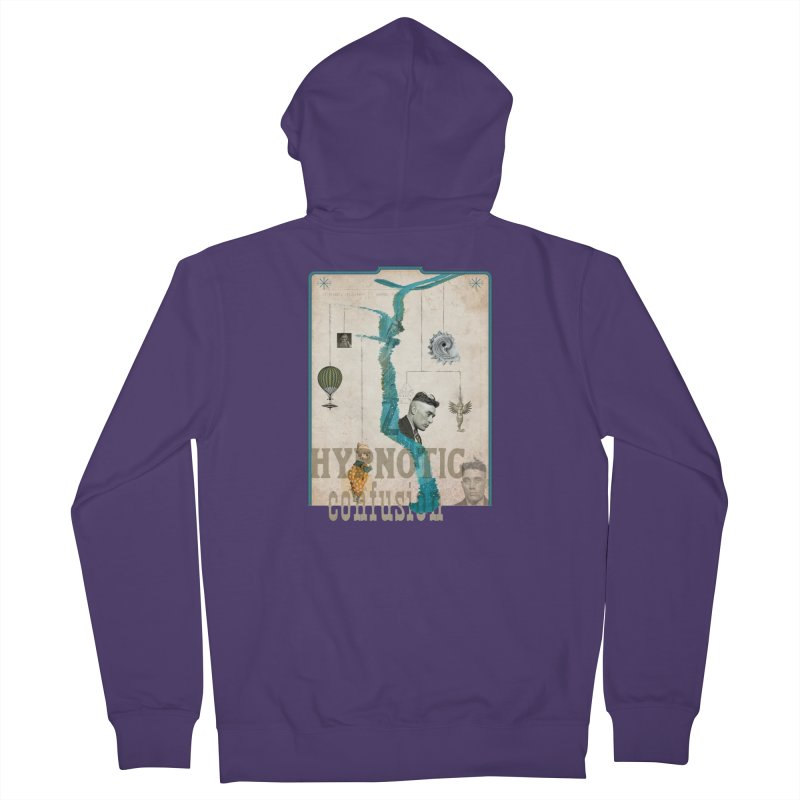 hypnotic confusion Women's Zip-Up Hoody by mcardwell's Artist Shop