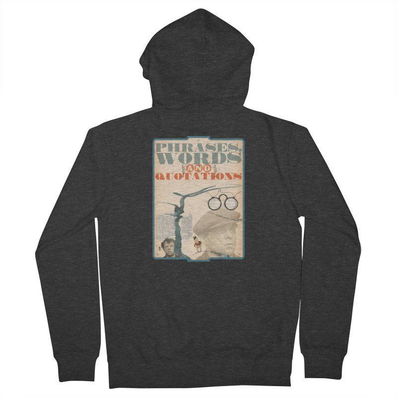 phrases words and quotations Men's Zip-Up Hoody by mcardwell's Artist Shop